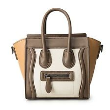 Bolsos Mujer 2016 Trapeze Smiley Tote Bag Luxury Brand Pu Leather Women Handbag