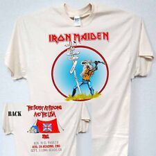 """IRON MAIDEN,""""The Beast at Reading"""" 82 Tour, T-Shirt,All Sizes,T-650Ivy,L@@K!"""