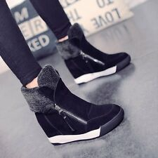 2016 New Fashion Winter Women Boots Increased Warm Plus Cotton Women Snow Boots