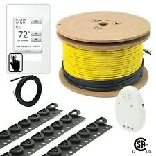 240V UDG4 Electrical Radiant Warming Floor Heating Cable System Kits