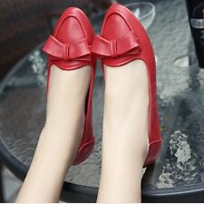 Flats Shoes 2017 Fashion Hot Women Casual Pointed Toe Loafers Bow Flats Ballet