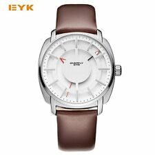 EYKI Double Layer Stereo Skeleton Dial Man Watches 2016 Brand Luxury Men's Watch