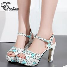 Sexy 4 colors  Ladies super High Heel Shoes Woman Summer Shoes Sandalias Mujer
