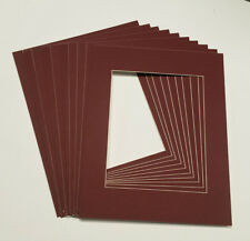 20x24 White Picture Mats with White Core for 16x20 Pictures - Fits 20x24 Frame