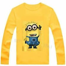 New 2016 100% Cotton boys t shirt despicable me 2 minion  t-shirts kids baby