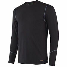 Terramar Thermolator Crew with Mesh Mens Long Underwear Top