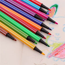 Marker Set 12/18/24/36 Colors Mark Pen Water Color Pen Art Painting Pencils JR