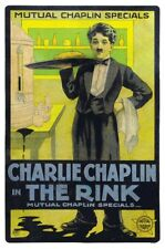 Charlie Chaplin Comedian Actor The Rink Silent Movie Poster