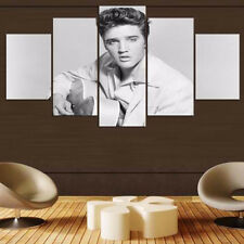 Framed Home Decor Canvas Print Painting Wall Art Elvis Presley King of Rock&Roll