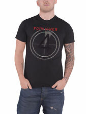 Foreigner T Shirt Distressed 4 Album Cover Official Mens New Charcoal Grey