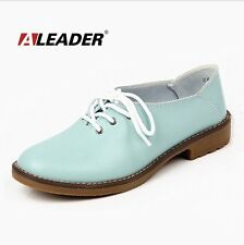 Genuine Leather Oxford Shoes Women Flats 2015 Fashion Women Shoes Casual
