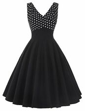 Belle Poque Summer Dress Women 2017 Pinup Swing Clothing Polka Dot Casual Sexy