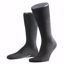 Falke Airport Sock anthracite 14435 - 3080 Basic wool cotton Blend