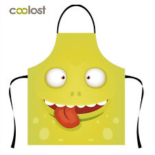 Kitchen Apron Restaurant Comfortable Bib Save-all Womens Cook Cooking  Pinafore