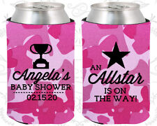 Baby Shower Koozies Koozie Favors (90140) Welcome Party, Sports, All Star
