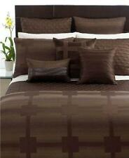 """Hotel Collection MERIDIAN King Bedskirt, Sepia NEW 16"""" Drop"""