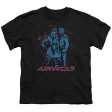 Airwolf TV Show Cast GRAPHIC Licensed  Youth T-Shirt S-XL