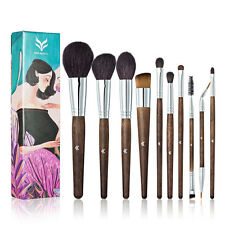 Multi-Color Makeup Brush Cosmetic Eyeshadow Powder Foundation Kabuki Brushes