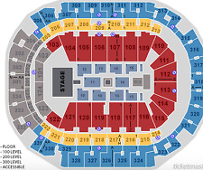 2 Section 207 Row F - Kendrick Lamar DAMN Tour - American Airlines Arena Dallas
