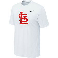 "Mens St. Louis Cardinals Baseball Official MLB Nike T-shirt ""7 COLORS"""
