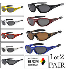 1 or 2 Pair X-Loop Polarized Lens Sport Cycling Fishing Running UV400 Sunglasses