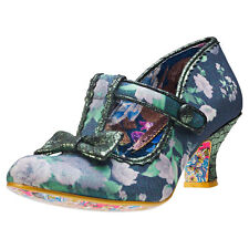 Irregular Choice Lazy River Womens Shoes Black Floral New Shoes