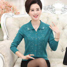 spring Autumn fashion elegant temperament thin cardigan Knitting sweater coat