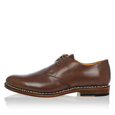 MAISON MARTIN MARGIELA New Men Brown Leather Made in Italy NWT
