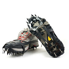Anti Slip Shoe Boot Grips Ice Cleats Spikes Snow Gripper Non Slip Crampons E5Z