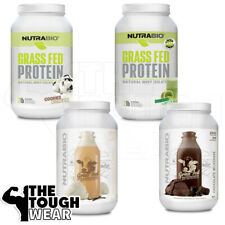 NUTRABIO - GRASS FED WHEY 2Lbs - 4 Flavors - Whey Protein Isolate-Muscle Growth
