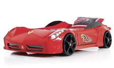Mini Ferrari 458 Race Car Bed, Childrens Car Bed, Kids Beds, Boys Car Bed - Red