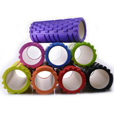 8Colors Trigger Point Foam Roller Muscle Tissue Massage Fitness Gym Yoga Pilates