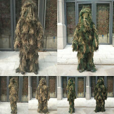 War Games Tactical Jungle Camouflage Bionic Ghillie Suit Sniper clothing Hunting
