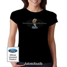 Ford Fitted Shirt Mustang Cobra Ford Motor Company Tee Shelby GT500 JUNIORS