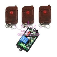 AC 110V 220v 10A relay 1CH wireless Remote Control Switch Transmitter+ Receiver