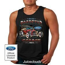 T-Bucket Roadster Garage 1923 Classic Ford Shirt Hot Rod Men's Tank Top