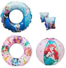DISNEY PRINCESS AND FROZEN SWIM RING / Armbands / Beach Ball Kids Inflatable Toy