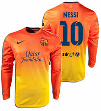 NIKE LIONEL MESSI FC BARCELONA LONG SLEEVE AWAY JERSEY 2012/13.