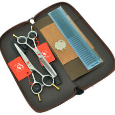 5.5inch Salon Scissors Set Hair Barber Shears Hair Cutting Thinning Scissors New