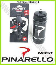 Bottle Cage / bottle Cage MOST PINARELLO Full Carbon + Water bottle 74 mm-66 mm