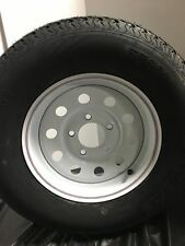 ST175/80R13 Trailer Tire & 5 Hole Rim Assembly LRC/6 Ply Rating 1758013
