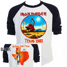 IRON MAIDEN,The Beast Tames Texas 82 Tour  T-Shirt,All Sizes,T-558Blk,L@@K!