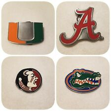 NCAA LICENSED BELT BUCKLES - OFFICIALLY LICENSED COLLEGIATE PRODUCT - PICK YOURS