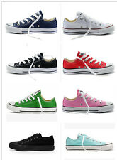 Women& Man ALL STARs Chuck Taylor Ox Low Top shoes casual Canvas Sneakers
