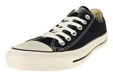 NEW! CONVERSE M9166 BLACK CHUCK TAYLOR ALL STAR OX SHOES TRAINERS BLACK UNISEX