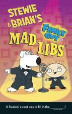 STEWIE & BRIAN'S FAMILY GUY MAD LIBS - CLARK, BRIAN D. - NEW PAPERBACK BOOK