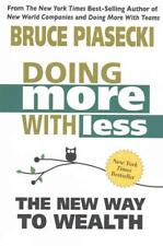 DOING MORE WITH LESS - PIASECKI, BRUCE - NEW PAPERBACK BOOK