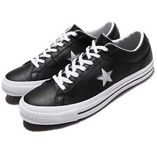 Converse One Star Leather Black White Men Skateboarding Shoes Sneakers 158465C