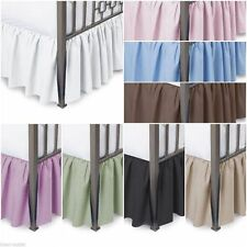 800TC Dust Ruffle Bed-skirt 100%Egyptian Cotton all size & Color