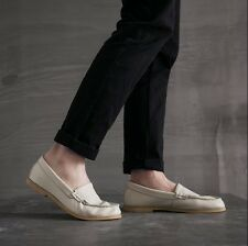Mens Moccasins Chic Loafers Slip On Breathable Driving Shoes Comfy Gommino Shoes